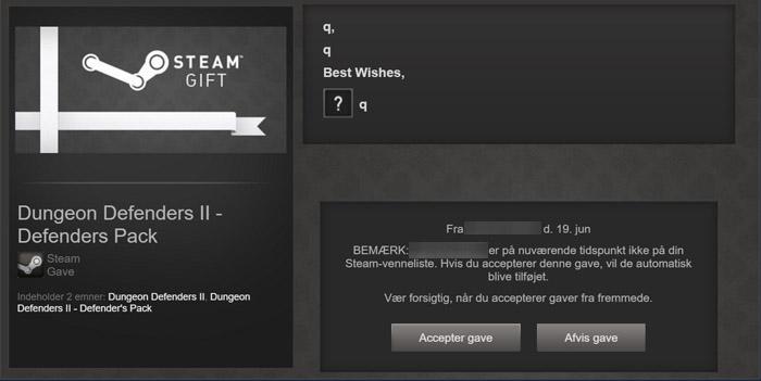 Hur löser jag in mitt Steam Gift spel?